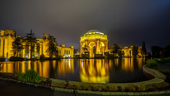 Night at Palace of Fine Arts (Axim2013) Tags: sanfrancisco california unitedstates us sony sonyilcea7m2 color photo night myphotoproject raykwa palaceoffinearts
