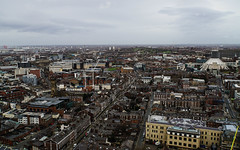 Liverpool from Liverpool Anglican cathedral (p.mathias) Tags: liverpool city cityscape england uk europe overcast january united kingdom mersey merseyside