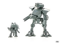 Oops (Will Vale) Tags: scifi scalemodel questorisknight 1220 adeptustitanicus godmachines gamesworkshop reavertitan titan gianteffingrobots