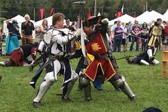 Knightly Combat (Itinerant Wanderer) Tags: pennsylvania buckscounty wrightstown villagerenaissancefaire