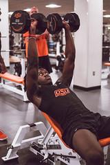 DSC04849 (OSUAthletics) Tags: oklahomastatecowboybasketball mensbasketball strength conditioning