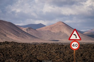 Driving on Lanzarote I