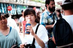 夏の影振り返ることもなく (postboxes) Tags: tokyo japan people girl japanese