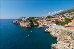 boundary.walls.dubrovnik@croatia (Rinaldofr) Tags: canon6dmkii canonef1635f4is dubrovnik croatia summer panorama sea center boundary walls