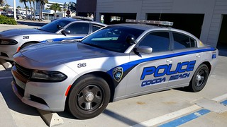 Cocoa Beach Police Department (CBPD) Dodge Charger