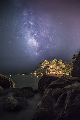 Limits (AzurTones_Photography) Tags: milkyway voielactée étoiles stars astrophotography night landscape water sky astro frenchriviera toulon var france magaud beach plage ciel ciels lactée galaxy galaxie