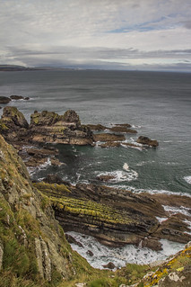 walk to Fast castle, near St Abbs.