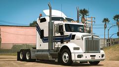 Kenworth T800 (USA Truckers) Tags: kenworth t800 kw america