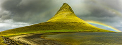 The Light on Kirkjufell (stevegilliesphotography) Tags: iceland landscape travel kirkjufell storm rain rainbow mountain outdoor weather sky