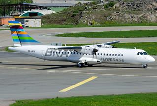 SE-MKK  Braathens Regional ATR ATR-72-600 (ATR-72-212A)