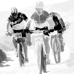 5465LTSL A Gruelling Climb (foxxyg2) Tags: cycles racing bikes mountainbikes endurance naxos cyclades greece greekislands ilsandlife islandhopping art mono monochrome bw blackwhite niksoftware dxo silverefex topaz topazstudio topazsoftware