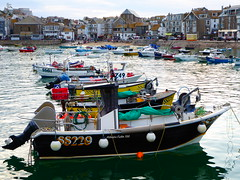 St Ives fishing boats (Richard and Gill) Tags: stives cornwall cornish seaside penwith kernow harbour wharf beach sea boats fishingboats