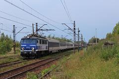 EP07-1068 (MarSt44) Tags: pafawag 4e ep07 eu07 ic icc pkp inter city kolej train podsył railway electric polska oświęcim oswiecim ep071068 1068 małopolska
