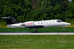 C-GAJS (Latitude Air Ambulance Canada) (Steelhead 2010) Tags: latitudeairambulance learjet lj35 bizjet yhm creg cgajs