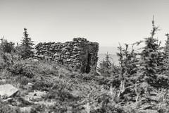 McNeil Shelter (Joshua Johnston Photography) Tags: oregon pacificnorthwest pnw joshuajohnston bnw blackandwhite mounthoodnationalforest mthood mcneilpoint rustic sonyfe85mmf18