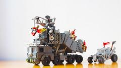 Doof Wagon from Fury Road (hachiroku24) Tags: lego mad max fury road doof wagon moc afol instructions truck apocalypse