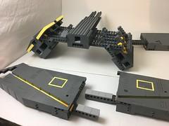 SHIPframe (Si-MOCs) Tags: shiptember2018 ship frame magic square
