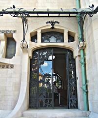 Porte de la Villa Majorelle (MAPNANCY) Tags: porte villa majorelle patrimoine
