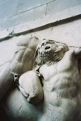 wrath (Cogitozoa) Tags: statue marble britishmuseum analogue analog 35mm film kodak portra 160 canon canonet rangefinder ql17 giii