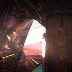Sunset through arches thumbnail