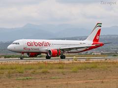 D-ABDU Airbus A320 Air Berlin (@Eurospot) Tags: 3516 dabdu airbus a320 eurowings pmi lepa palma airberlin