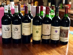 Let's Raid The Cellar (The VIKINGS are Coming!) Tags: vintage wine collection cabernet french bordeaux stagsleap caymus cakebread old exquisite latour markham heitz