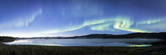 Autumn aurora panorama (frostnip907) Tags: auroraborealis northernlights panorama nature night nightsky alaska