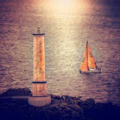 Cabo Home (Juan Figueirido) Tags: cabohome cangas cangasdomorrazo vessel sailingboat sailing galicia farodecabohome