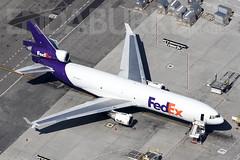 Fed Ex N583FE 17-5-2018 (Enda Burke) Tags: fedex n583fe federalexpress lax klax socal california losangeles usa america unitedstatesofameria avgeek aviation md11 md11f boeingmd11 boeing mcdonnell mcdonnelldouglas mcdonnelldouglasmd11 mcdonell canon canon7dmk2 airplane runway cargo cargojet freighter freight