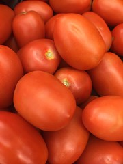 Roma Tomatoes (joncutrer) Tags: grocerystore vegetables food edible groceries produce royaltyfree cc0 cooking ingredients tomatoes red tomato
