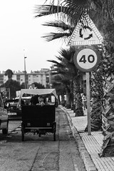 Movin' (fransaan) Tags: traveling moving transport linea port highway city carriage cart bnw black white blackandwhite street photography monochrome holidays summer end