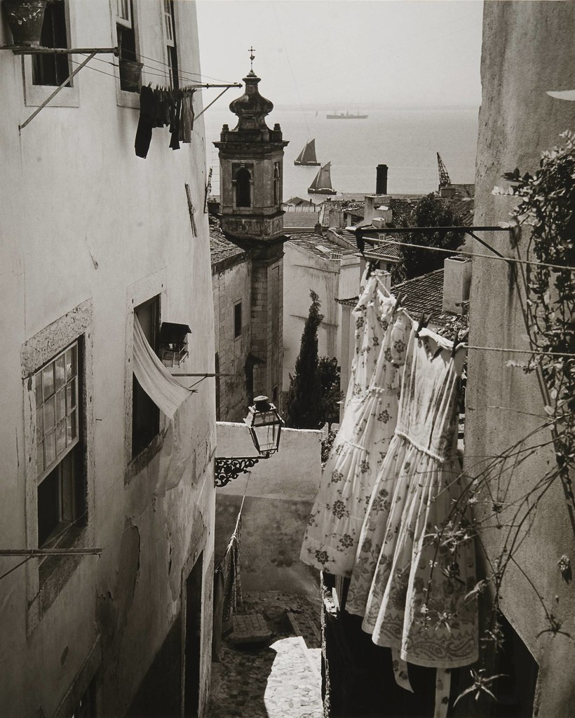 Nesga do Tejo, Alfama (Adiça), 195… Artur Pastor, in archivo photographico da C.M.L.