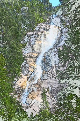 Artistic falls