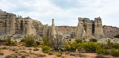 Plaza Blanca, Abiquiu, New Mexico (szeke) Tags: landscape newmexico desert rocks mountain abiquiu