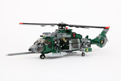 AW-225 C (Corvin Stichert) Tags: lego helicopter helo chopper military utility agusta westland eurocopter special forces