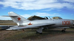Mikoyan-Gurevich MiG-15bis in Valle (J.Comstedt) Tags: aircraft flight aviation air aeroplane museum airplane us usa airport planes fame valle grand canyon az mikoyan gurevich mig15
