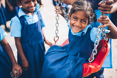 Photo of the Day (Peace Gospel) Tags: outdoor playground playtime playing swinging child children orphans girls kids cute adorable smiles smiling happy happiness joy joyful peace peaceful hope hopeful thankful grateful gratitude empowerment empowered