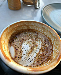 2018 Sydney: Coffee Bubbles (dominotic) Tags: 2018 food drink coffee coffeebubbles yᑌᗰᗰy coffeeobsession circle iphone8 macro sydney australia