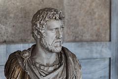 Hadrien (Mannishboy85) Tags: hadrien statue agora athens athènes athina portrait