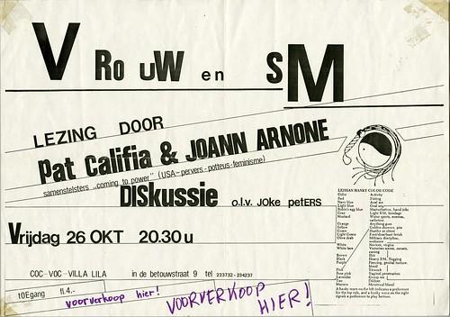 1984 Vrouw en SM