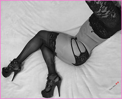 11/2/16 Strappy Lace Crop Top & Boyshort (Trans-Amee (CD)) Tags: transamee trans transgender me crossdresser crossdressing crossdress crossdressed sexylegs sexyass sexyheels sexybody sexycd blacklace sexystockings
