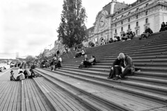 Le Musée d'Orsay (Franco & Lia) Tags: street fotografiadistrada photographiederue paris parigi france francia musèedorsay biancoenero noiretblanc blackwhite