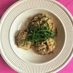 Mushrooms &  Samphire Risotto (Ron van Zeeland) Tags: food zeekraal samphire rice cheese veggie mushrooms risotto italian vegetarian meal italianfood italy