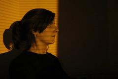Street light (lucy★photography) Tags: me selfie shadow shadows streetlight blinds blind shutter venetianblindsvenetianblind bedroom lit