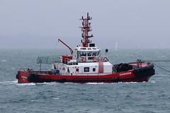 Guardsman, The Solent, August 10th 2018 (Southsea_Matt) Tags: guardsman tug tugboat unitedkingdom england hampshire portsmouth thesolent ship vessel canon 80d 100400mm august 2018 summer