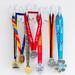 World Marathon Medaillen aus Boston, New York, Tokio, Chicago, London und Berlin