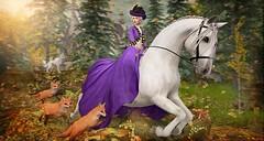 Lady Worsley In Flight (Duchess Flux) Tags: weloveroleplay aulovely belleepoque catwa glamaffair waterhorse jinx truth halfdeer rivendale secondlife sl