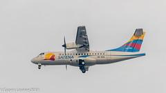HK-5114 SATENA ATR 42-600 (Otertryne2010) Tags: 2018 2k18 colombia eoh herrera medellin olaya skmd satena atr 42600 landing