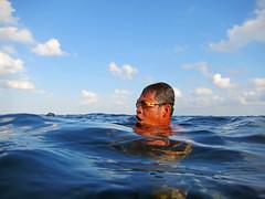 Sama Dilaut Fisherman, Sampela, Indonesia 2 (AquaticApe) Tags: diving diver sama sampela wakatobi indonesia woodengoggles speargunfishing samadilaut bajaulaut sukulaut