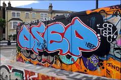 Dsep (Alex Ellison) Tags: dsep osv southlondon brixton skatepark halloffame urban graffiti graff boobs